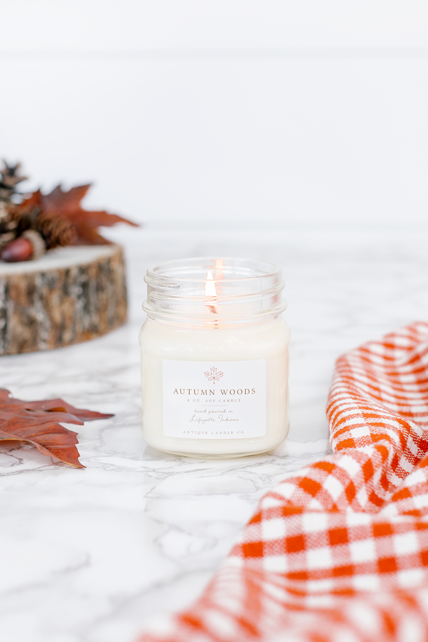 Autumn Woods 8 oz candle