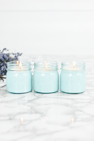 Lavender Vanilla Blue Jar Bundle of Three