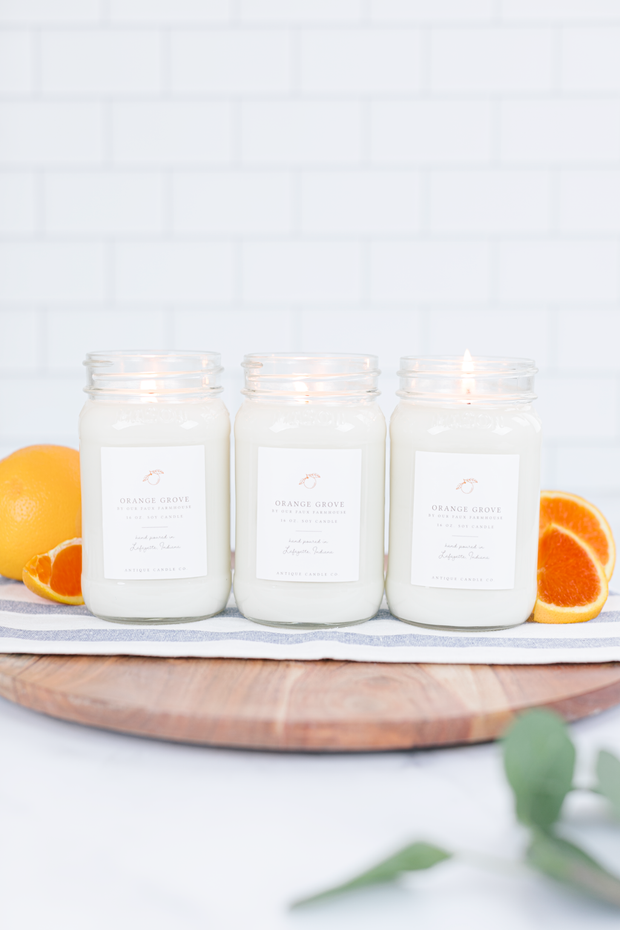 Orange Grove by Our Faux Farmhouse Bundle of Three