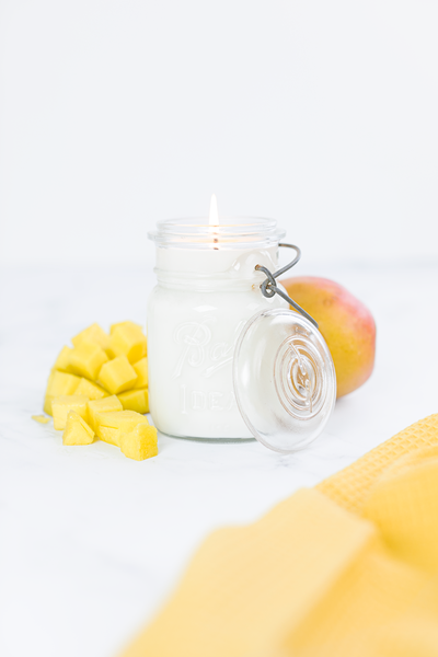 Mango Citrus - Vintage Wire-Closure Ball Jar
