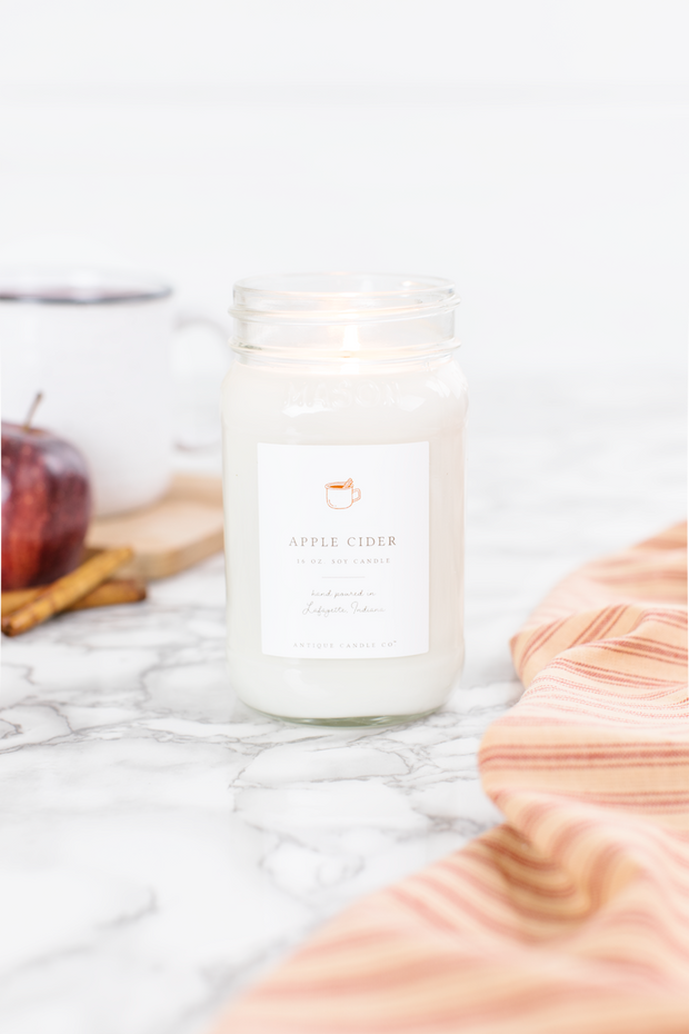Apple Cider 16 oz candle