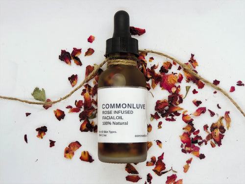 Organic Rose Infused Facial Oil