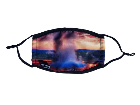 Yellowstone Sunrise Face Mask with Filter