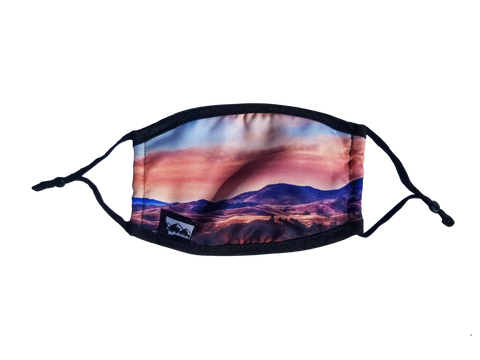 Bearspaw Mountains Face Mask with Filter