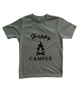 Boy's Happy Camper Shirt