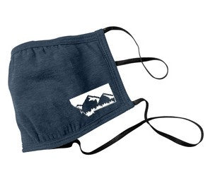 Adult Heather Navy Montana Mask