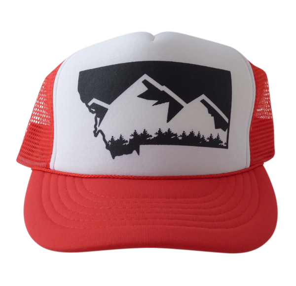 CLEARANCE Youth Mountain Trucker Hat