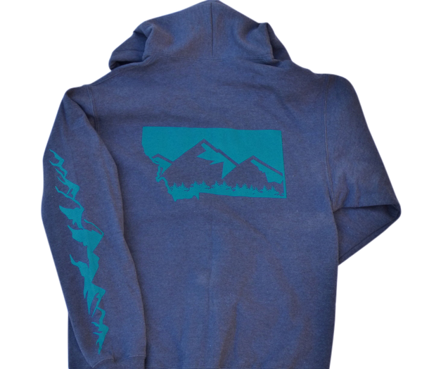 CLEARANCE Zipup Mountain Hoodie