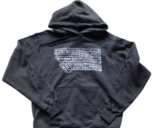 CLEARANCE Charcoal Brewery Hoodie