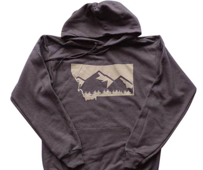 CLEARANCE Brown Mountain Hoodie