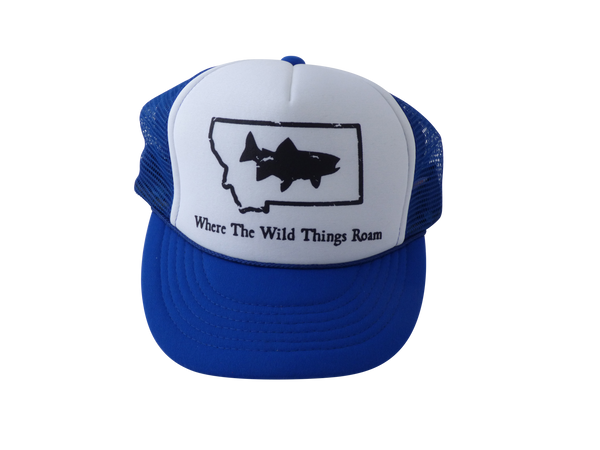 CLEARANCE Youth Wild Fish Trucker Hat