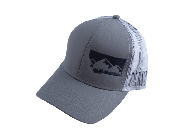 Grey with Charcoal MT Hat