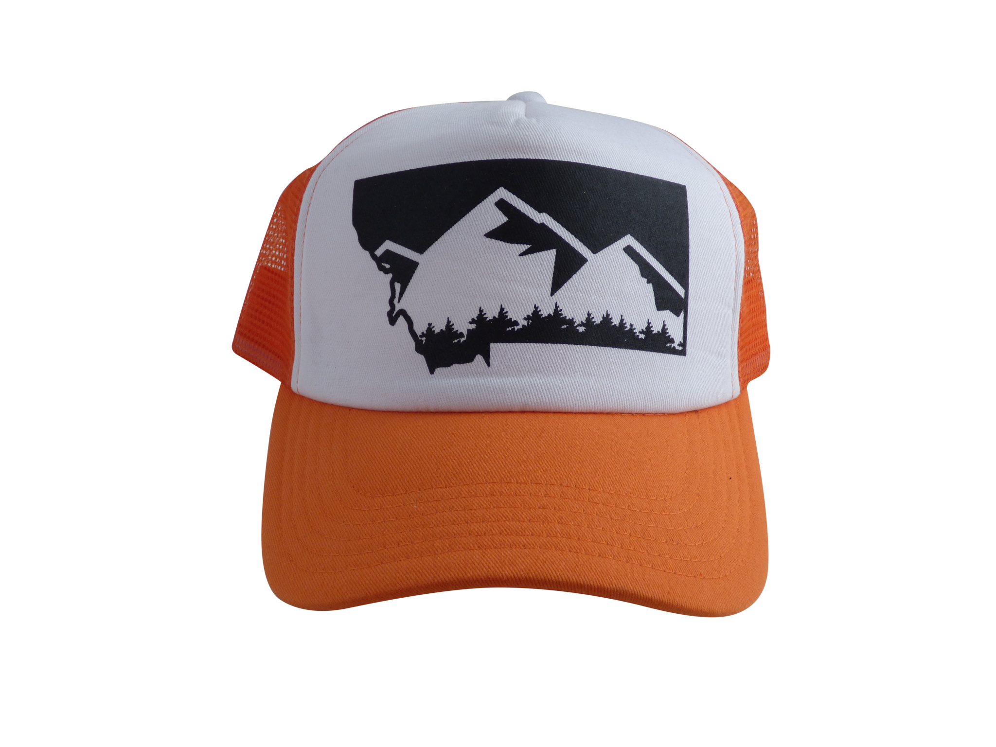 Copy of CLEARANCE Adult Orange Mountain Hat