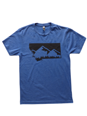Men's Mountain Shirt Blue