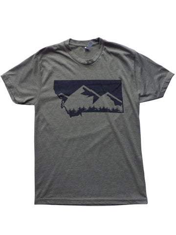 Men's Mountain Shirt Military Green