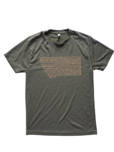Men's Brewery Shirt Military Green