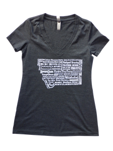 Women's Brewery Shirt Charcoal