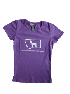 Girls Youth Wild Deer Shirt