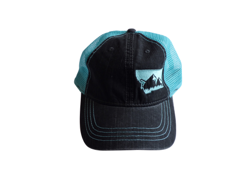Soft Front Embroidered Mountain Hat