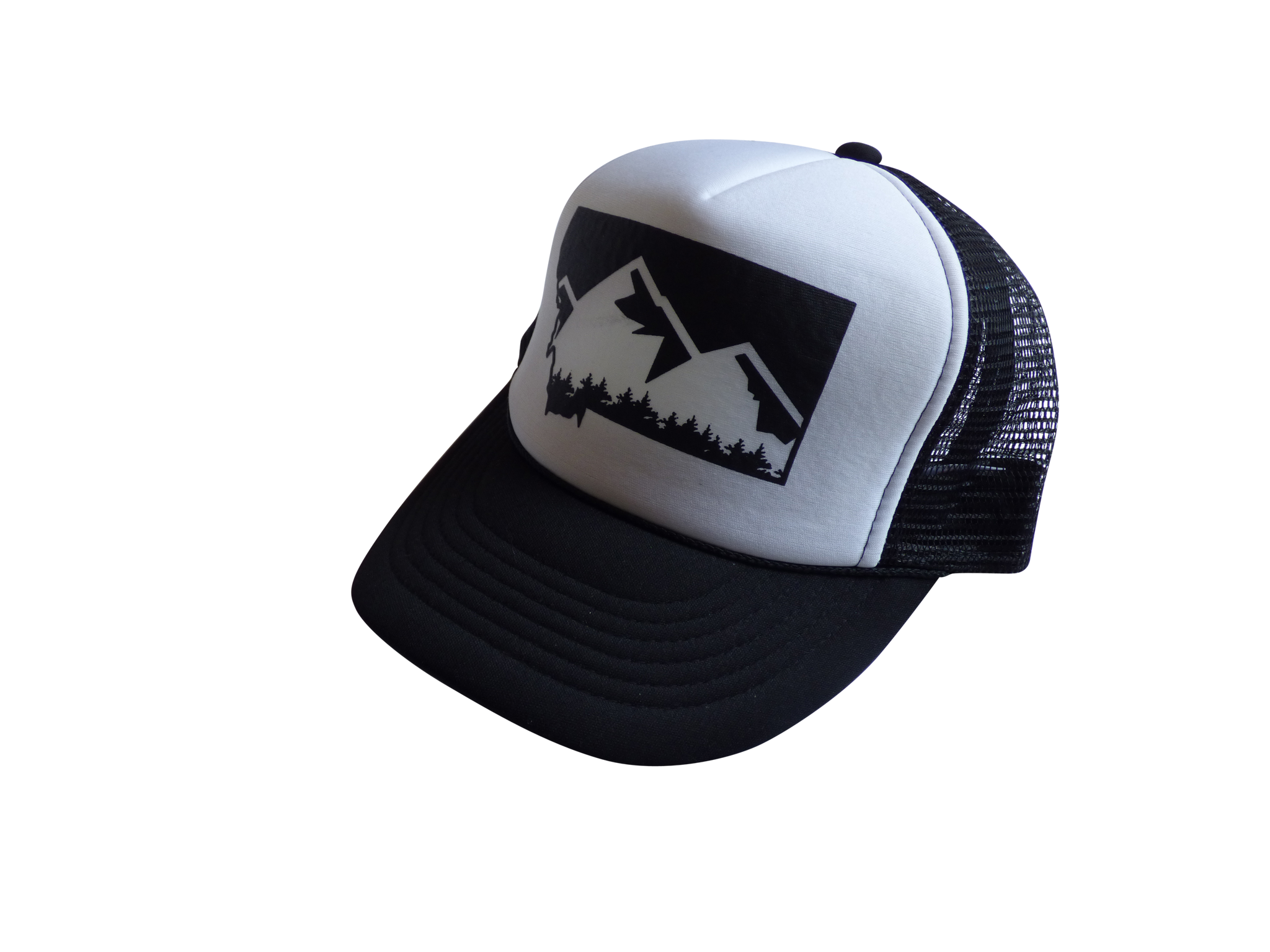 CLEARANCE Youth Black Mountain Hat