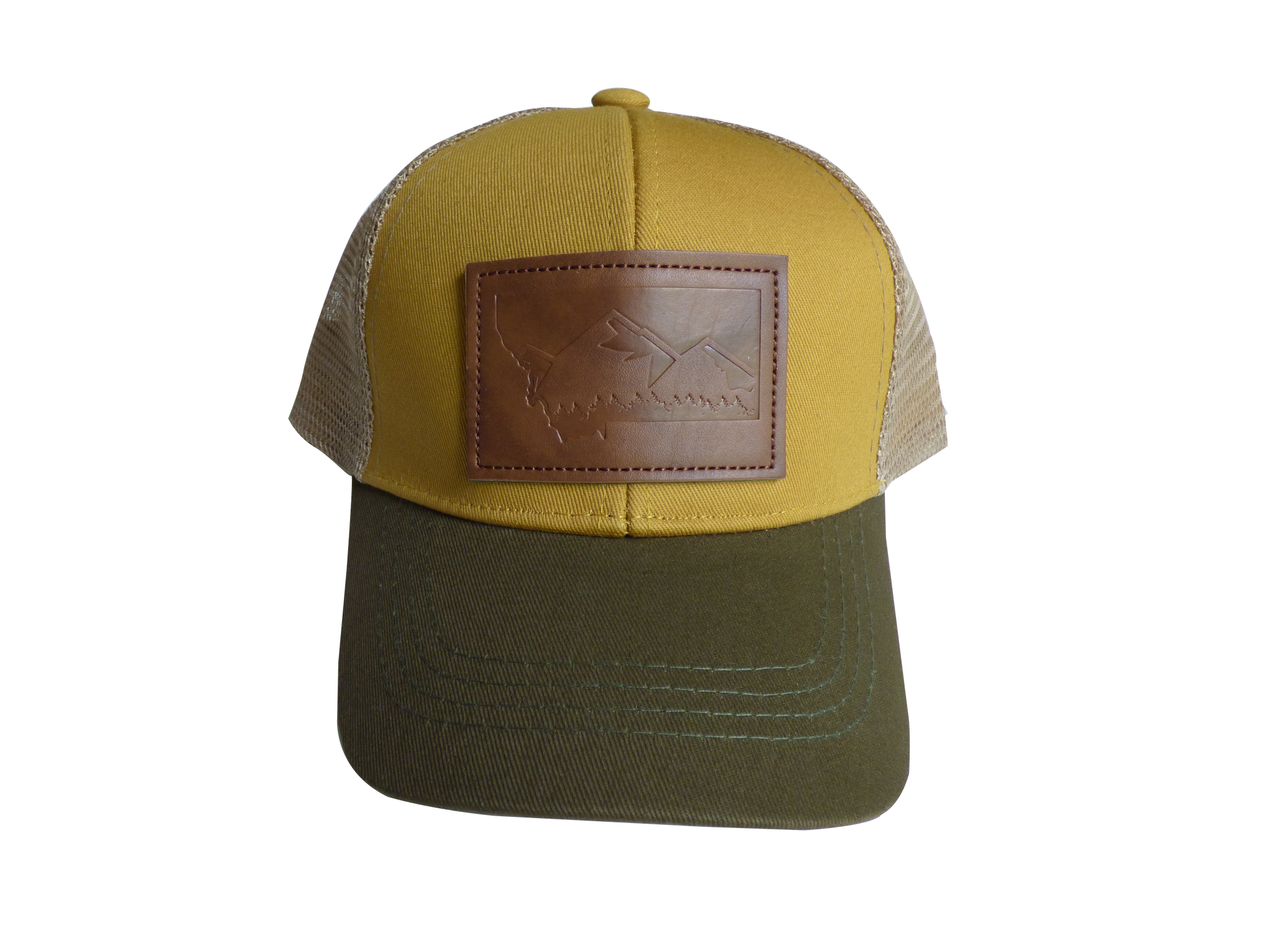 Montana Leather Patch Hat