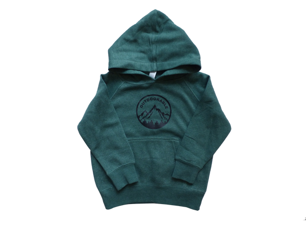 Toddler Green Outdoorable Hoodie