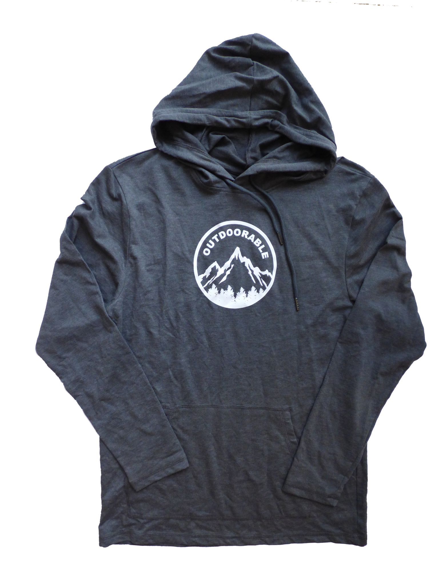 Outdoorable Charcoal Unisex Light Weight Hoodie