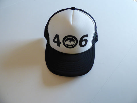 CLEARANCE Youth Black 406 Hat