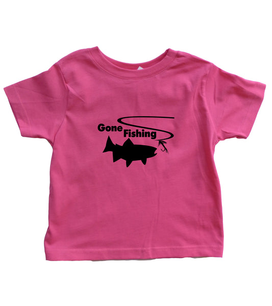 Infant Gone Fishing Shirt