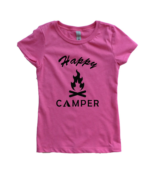 Girl's Happy Camper Shirt