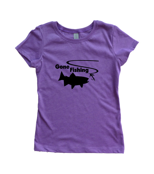 Girl's Gone Fishing Shirt