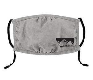 Youth Heather Grey Adjustable Montana Mask