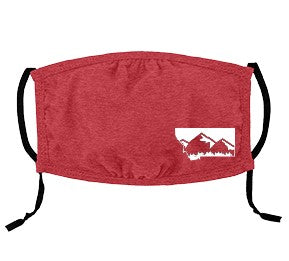Youth Red Adjustable Montana Mask