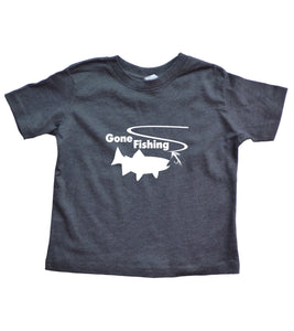 Toddler Gone Fishing Shirt