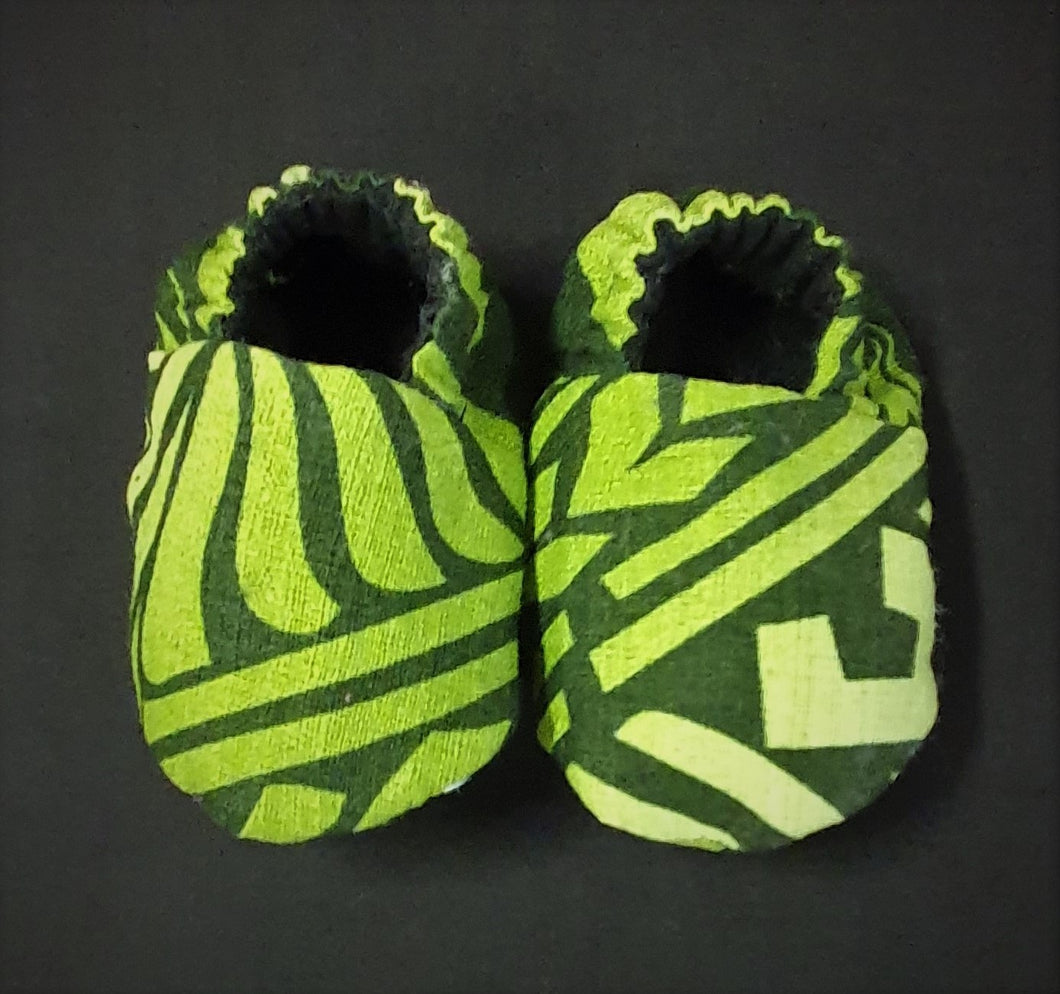 Baby Shoes  Green