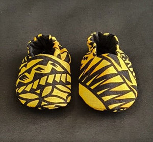 Baby Shoes  Yellow