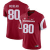Drew Morgan Arkansas Razorbacks Football Jersey - Red