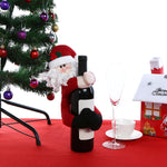 Christmas Wine Bottle Cover Snowman Santa Claus Doll