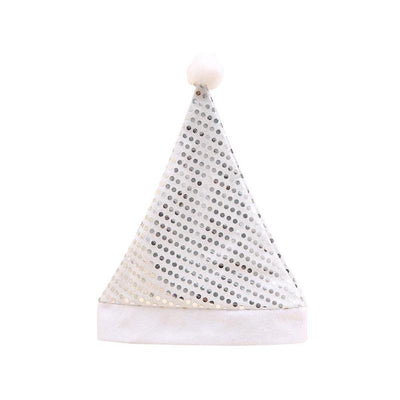 Sequins Upscale Christmas Hat Christmas Party Supplies Christmas Decorations