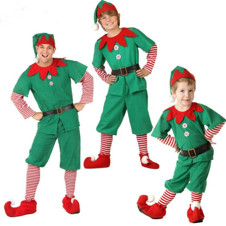 Christmas costume, Jolly Elf Kit for Christmas Holiday