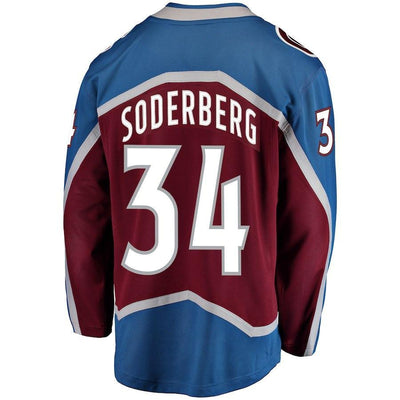 Carl Soderberg Colorado Avalanche Player Swingman Jersey