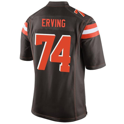 Cameron Erving Cleveland Browns Game Jersey