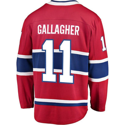 Brendan Gallagher Montreal Canadiens Player Swingman Jersey
