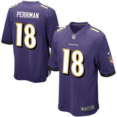 Breshad Perriman Baltimore Ravens Game Jersey