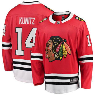 Chris Kunitz Chicago Blackhawks Player Swingman Jersey