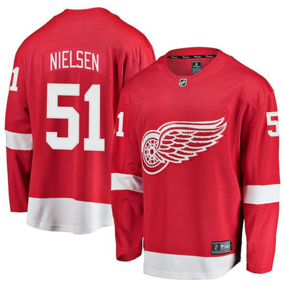 Frans Nielsen Detroit Red Wings Player Swingman Jersey