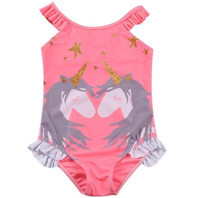 PARTY UNICORN ONE PIECE SWIMSUIT