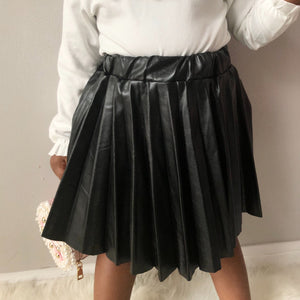 Luxe Accordion Skirt