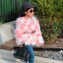 Load image into Gallery viewer, PRINCESS LUXY LUXE FUR COAT