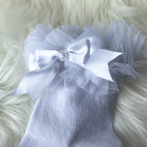 PRINCESS LACE FRILL SOCKS